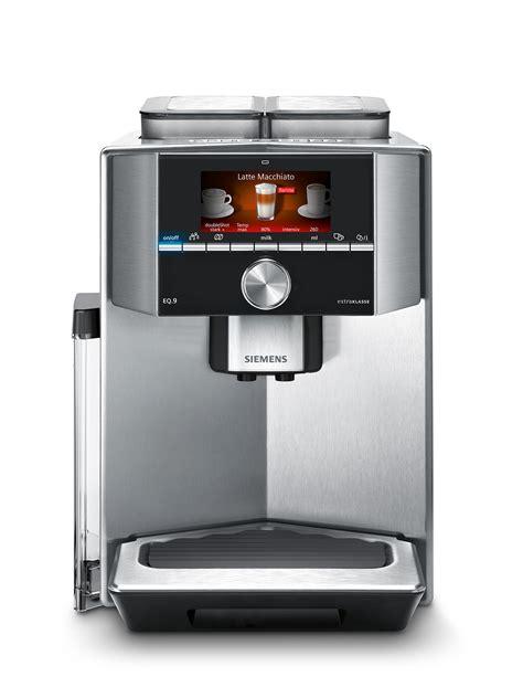 siemens kaffeevollautomat integriert siemens kaffeevollautomat eq 9 spitzenmodell der serie eq
