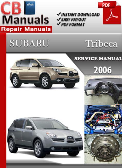 subaru tribeca 2006 online service repair manual download manuals