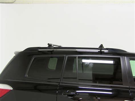 Toyota Highlander Roof Rack Installation by Yakima Roof Rack For 2012 Highlander By Toyota Etrailer
