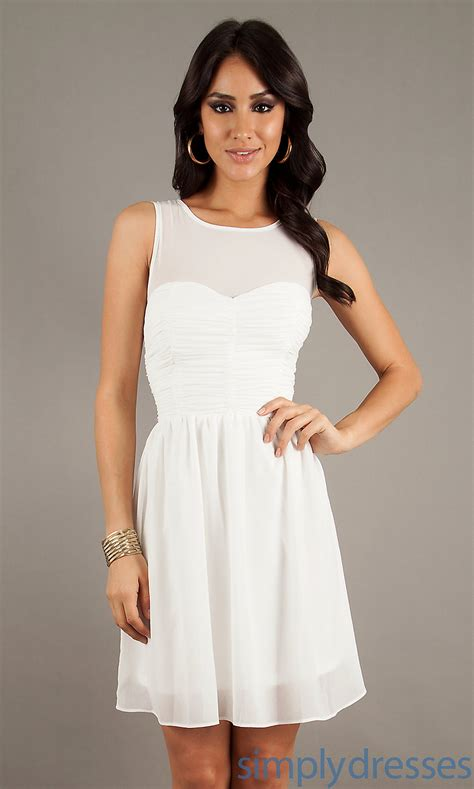 White Casual Wedding Dresses by 20 All White Casual Dresses Fashion Fuz