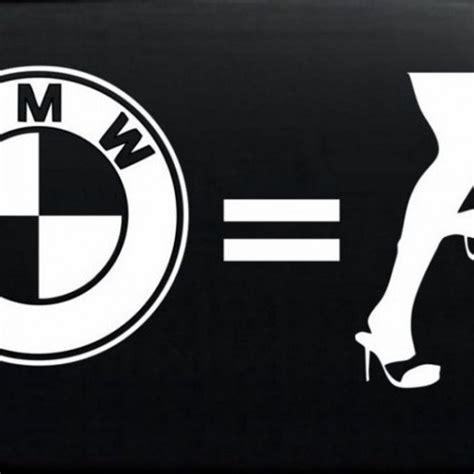 bmw decal sticker bmw dropper jdm custom decal sticker 7 5