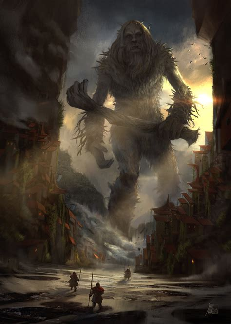 monster out of the woods by sinakasra on deviantart