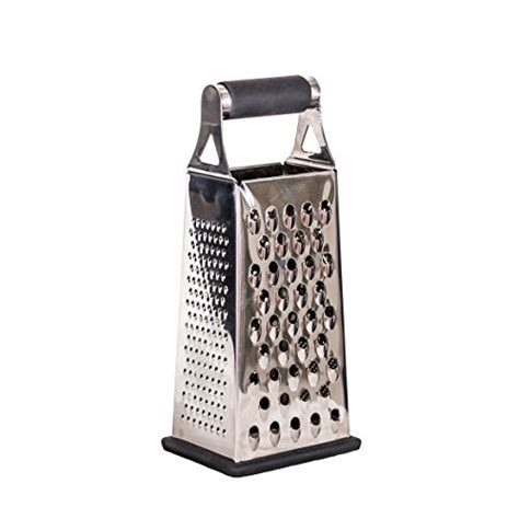 Promo 4 Way Grater Stainless Steel Parutan 4 Sisi Mutu Gts 48 graters munu kitchen tools 4 sided medium grater stainless steel lemon best ebay