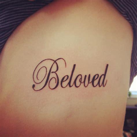 get ink tattoo beloved getting on my back shoulder area in white