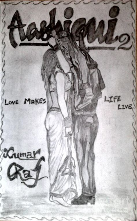Aashiqui 2 Sketches by Aashiqui 2 Poster Sketch Www Pixshark Images