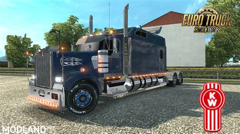 new w900 kenworth for kenworth w900 long remix 1 26 new mod for ets 2