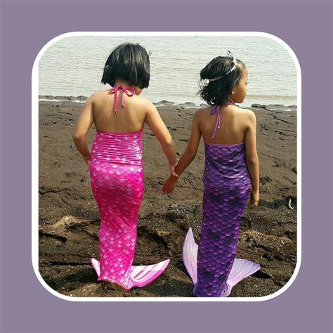 beli baju renang duyung 2016 detail dan harga baju putri duyung 3d violet toko bunda