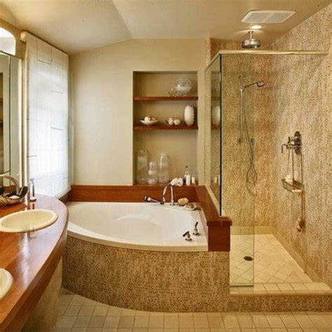 50 Amazing Bathroom Bathtub Ideas Removeandreplace Com Corner Tub Bathroom Ideas