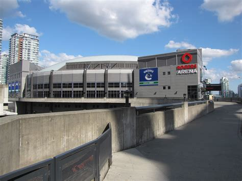 rogers arena vancouver  schedule seating