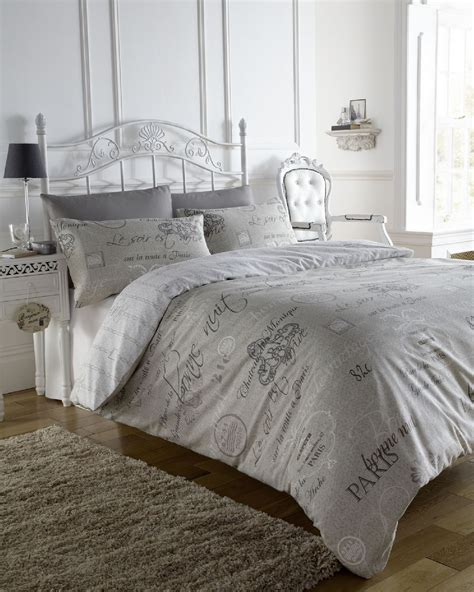 french bedding sets script paris stylish french calligraphy duvet quilt cover