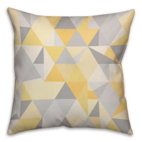 yellow decorative bed pillows buy yellow bed decorative pillows from bed bath beyond