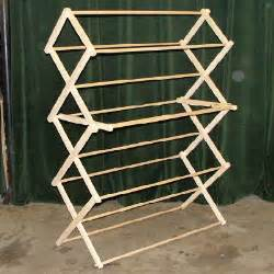 Clothes Drying Rack Plans Free by Wooden Drying Rack