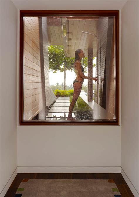 Beautiful Eco Friendly House Designs #5: Eco-friendly-kona-home-hawaiian-craftsmanship-modern-details-21-shower.jpg
