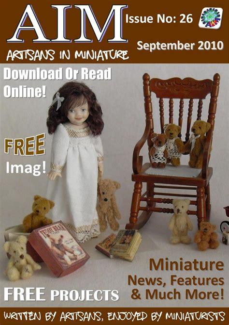 dolls house magazines dollhouse kitchen miniatures wonderful free dolls house magazine