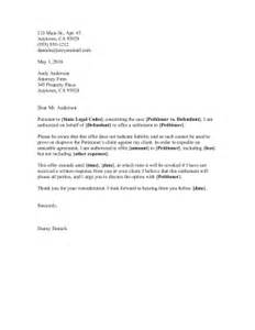 debt settlement offer letter template settlement offer letter template letter template 2017