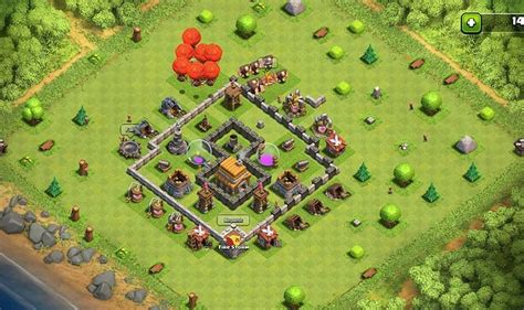 clash of clans layout guide level 5 01 clash of clans war base layout town hall level 5 150x150