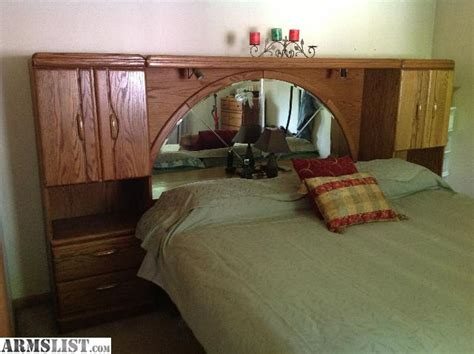mirrored headboard for sale armslist for sale trade king size mirrored bookcased
