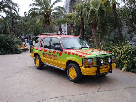 jurassic park car movie cool cars made famous in films