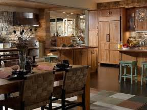 rustic kitchen designs photo gallery create a rustic kitchen design with the help of stone veneers