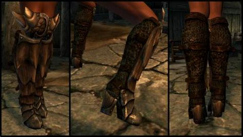 skyrim high heels hdt hdt high heeled boots for unp by kendo 2 armor