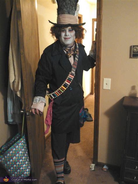 mad hatter costume inspired  tim burton