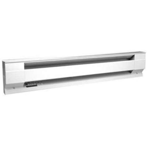 hardwired baseboard heaters cadet manufacturing 05534 120 volt white baseboard