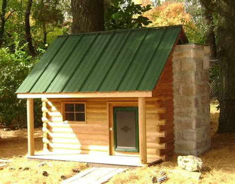 cabin dog house outdoorsy log cabin dog house dogs and more pinterest