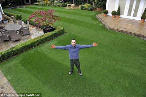 bolton accountant scoops britain s best lawn title after years of trying daily mail online