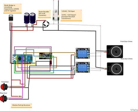 lighted doorbell wiring diagram doorbell parts wiring