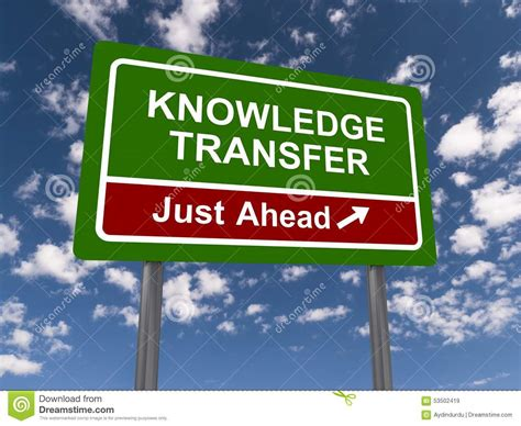 Knowledge Transfer Letter knowledge transfer stock photo image 53502419