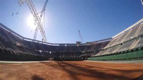 Lu Stop Avanza avanza el techado estadio parque roca