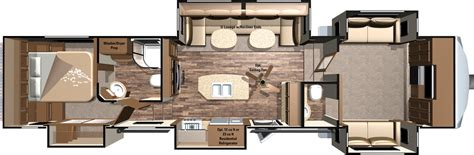 fifth wheel floor plans front living room 2016 roamer fifth wheels by highland ridge rv