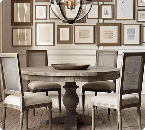 restoration hardware dining room table grey washed dining table makeover