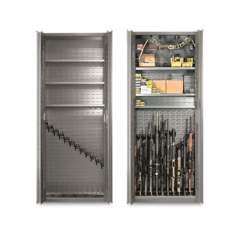 Tactical Gun Cabinet by Secureit Tactical Model 84 12 Gun Storage Cabinet