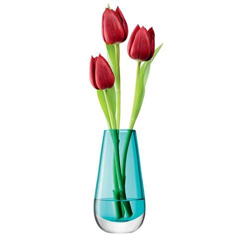 Bright Yellow Kitchen Accessories - lsa flower colour bud vase designer turquoise vase