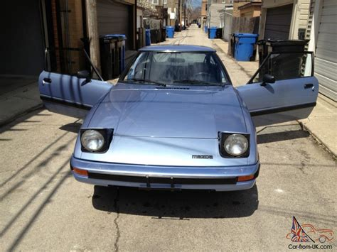 what country mazda cars from 1983 mazda rx 7 s 9k no reserve