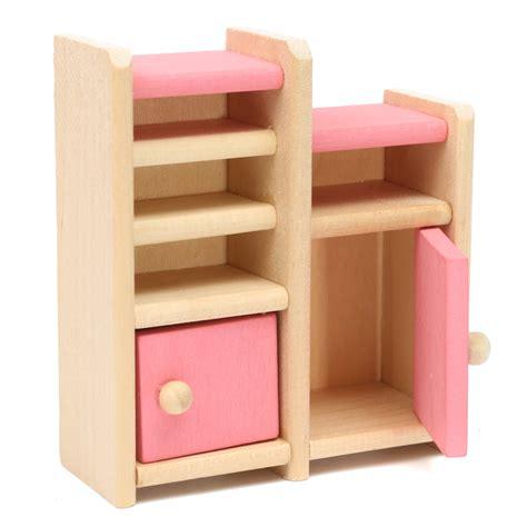 wooden designer doll set wooden doll set children toys miniature house family