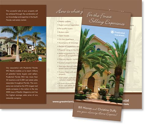 leaflet design for estate agents brochures by ay creative design at coroflot com