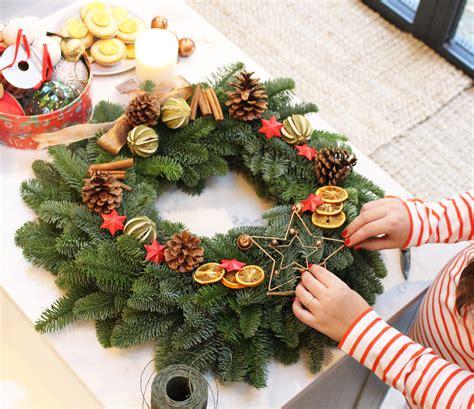 vogue living christmas wreath diy wreath with felton