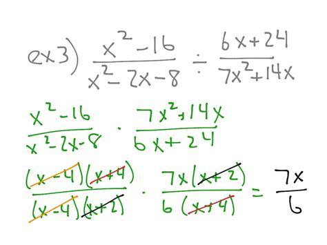 Dividing Rational Expressions Worksheet by Pictures Multiply And Divide Rational Expressions Worksheet Dropwin