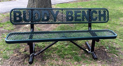 playground buddy bench real life the next dark age