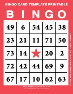 6 x 6 bingo card template editable free printable blank bingo cards template numbers 1 100