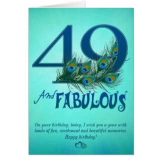 49th birthday cards greeting photo cards zazzle