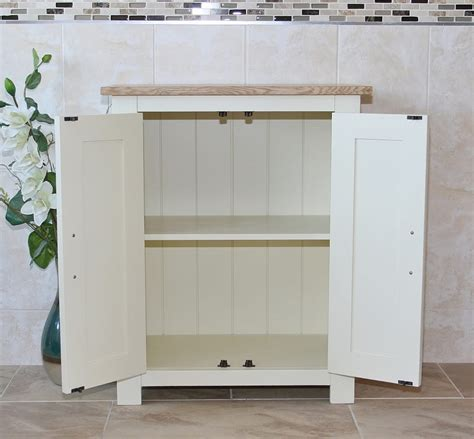 white bathroom storage unit painted white oak top bathroom storage unit 310