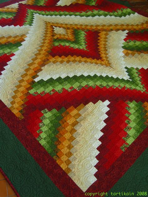 Bargello Patchwork - bed cover 2008 kain patchwork quilting s