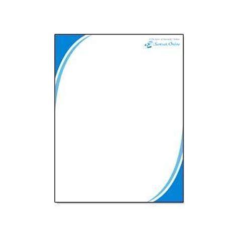 business letterhead sole trader company letterheads files folders notebooks ad india