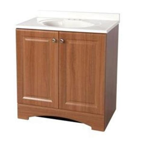 glacier bay 30 1 2 in w bath vanity in golden pecan with