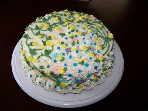 Flower Garden Cake Pinterest Flower Garden Cake Craft Ideas Pinterest