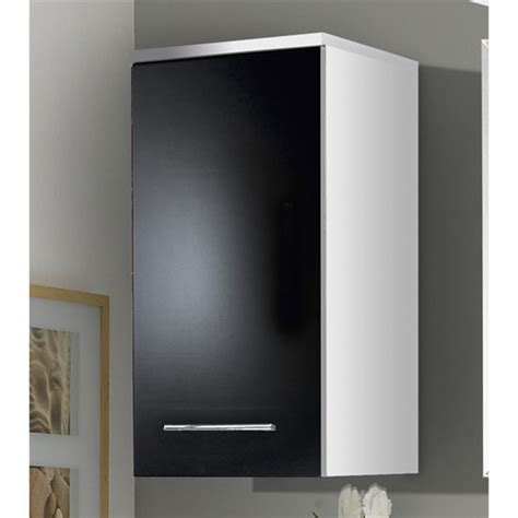black bathroom wall cabinet flash gloss black bathroom wall cabinet 1745 73 buy bathroom cabinets furnitureinfashion uk