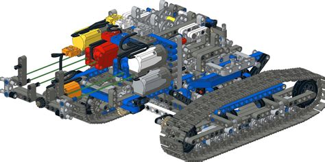 Lego Crawler Crane 42042 technic 42042 crawler crane conversion to remote
